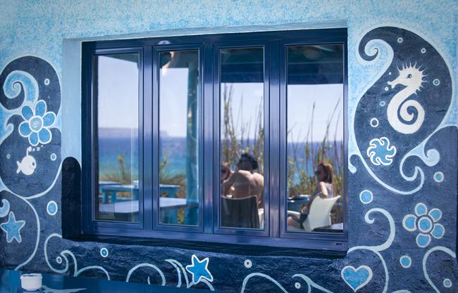 Blue Bar, Playa de Migjorn