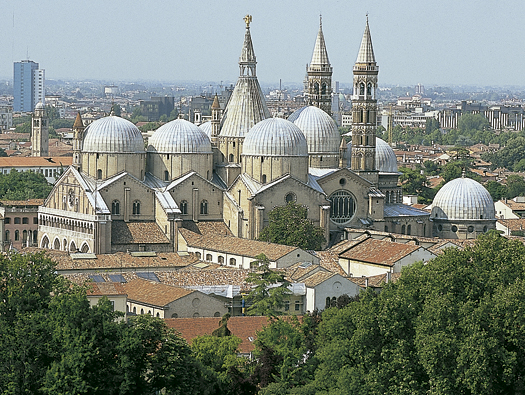 Basílica del Santo, en Padua
